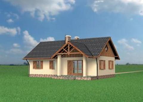 Projekt domu Jemioła