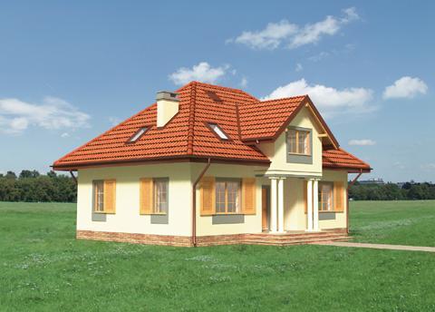 Projekt domu Jeremiasz