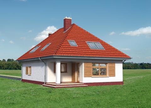 Projekt domu Jesion