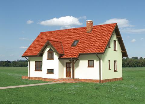 Projekt domu Jeżyk