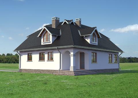 Projekt domu Jonasz