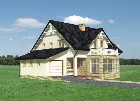 Projekt domu Jonatan