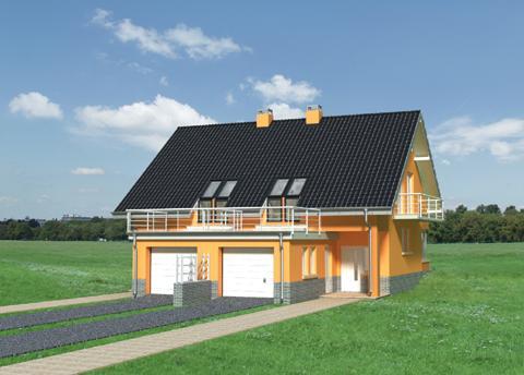 Projekt domu Juta Duo