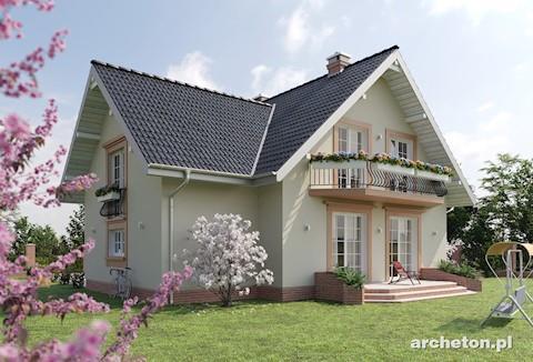 Projekt domu Kaja Lux Grota
