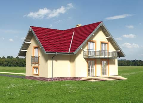 Projekt domu Kaja Rex