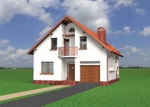 Projekt domu Kajman