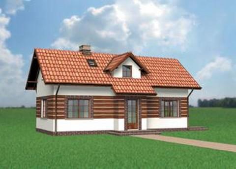 Projekt domu Kąkol