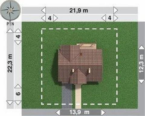 Projekt domu Kalcyt