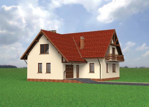 Projekt domu Karat