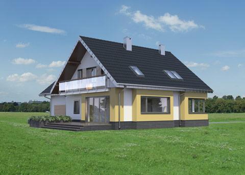 Projekt domu Karina