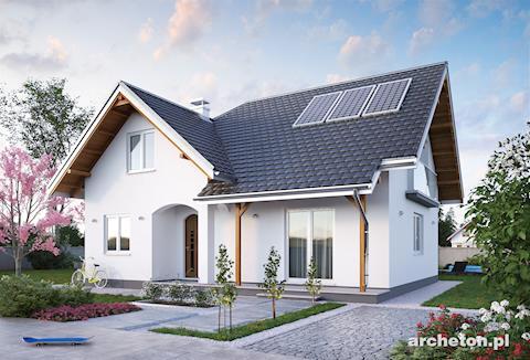 Projekt domu Karmel