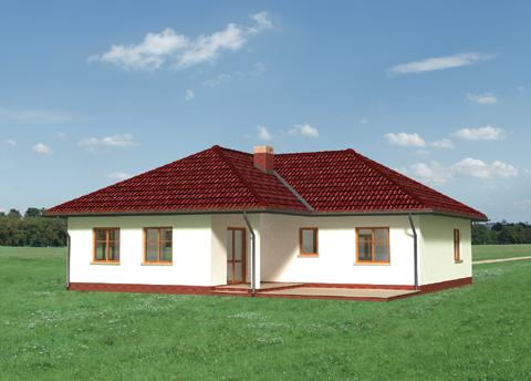 Projekt domu Karolina
