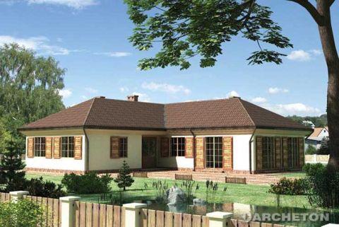 Projekt domu Kastalia-2