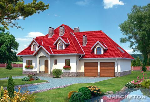 Projekt domu Kastor