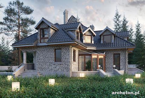 Projekt domu Kasztel
