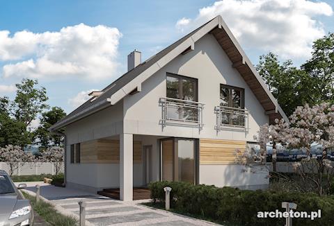 Projekt domu Katia
