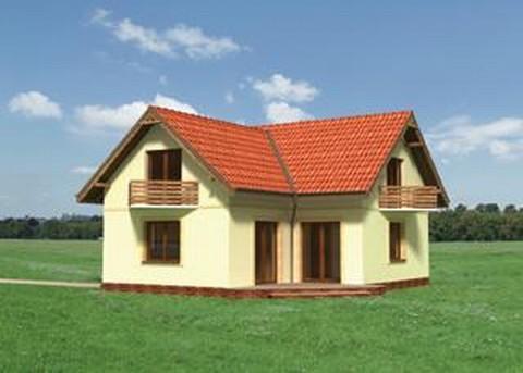 Projekt domu Kawka