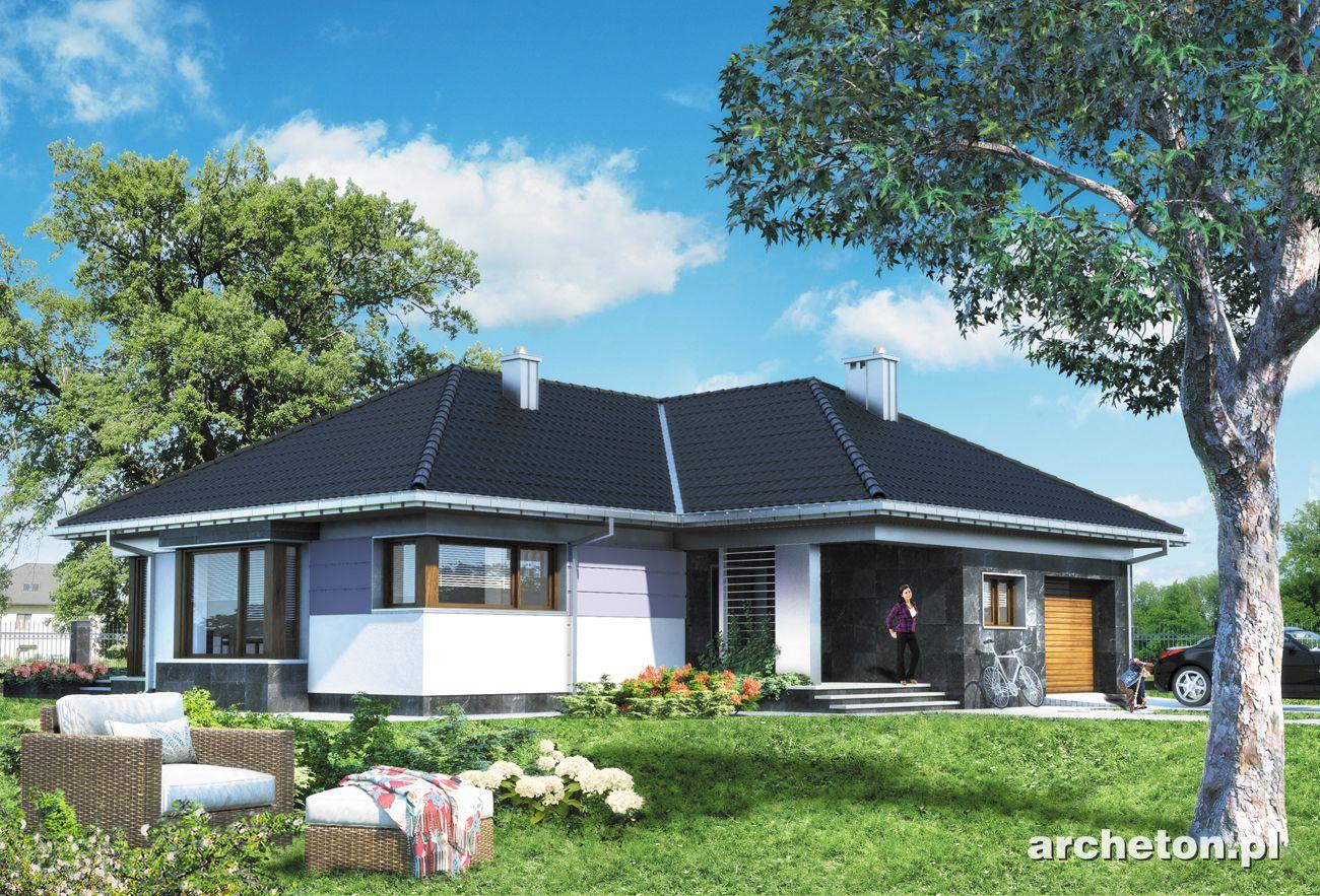 Projekt Domu Klaudia Przytulny Dom Parterowy Na Planie W