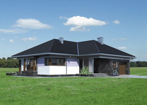 Projekt domu Klaudia