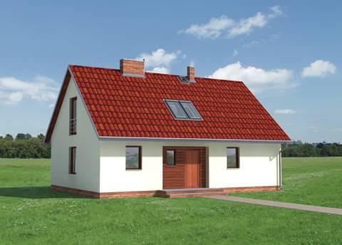 Projekt domu Kokosz