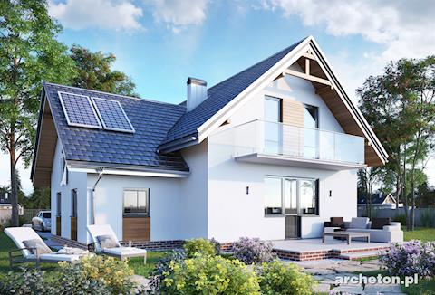 Projekt domu Koliba-2
