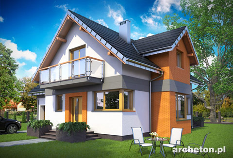Projekt domu Koliba Astro