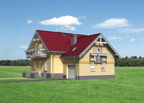 Projekt domu Koliba Atu