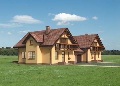 Проект домa Колиба Дуо