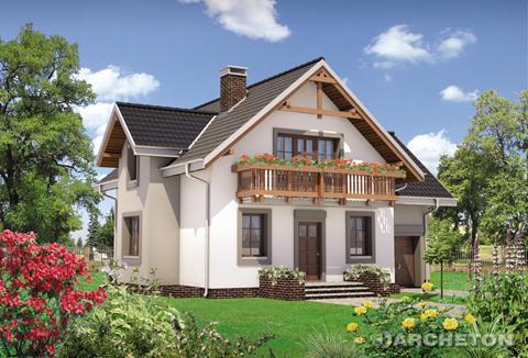 Projekt domu Koliba Grota