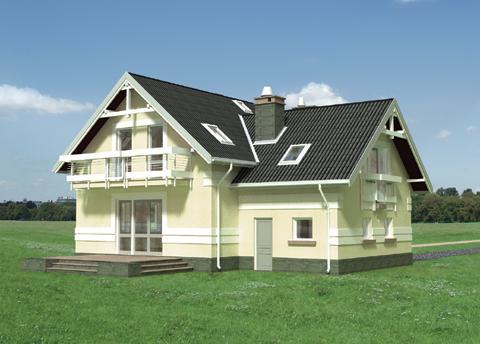 Projekt domu Koliba Plus