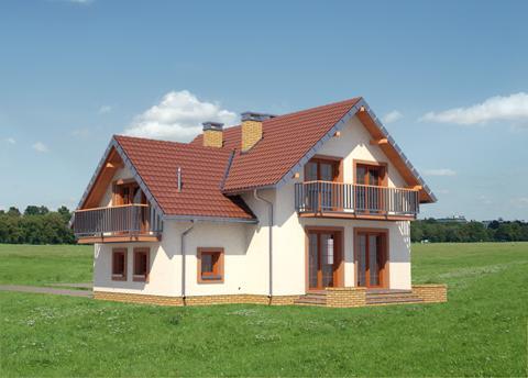 Projekt domu Koliba Rex