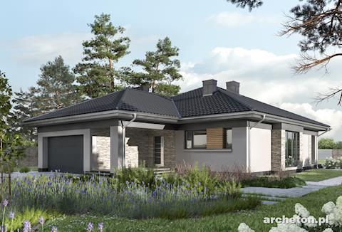 Projekt domu Koniczynka G2