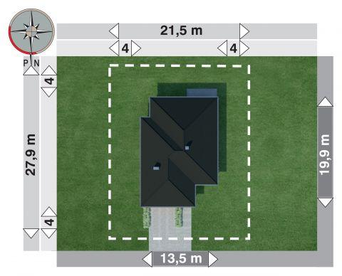 Projekt domu Koniczynka Polo G2