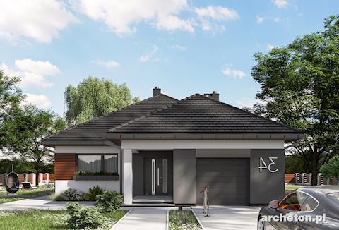 Projekt domu Koniczynka Rex