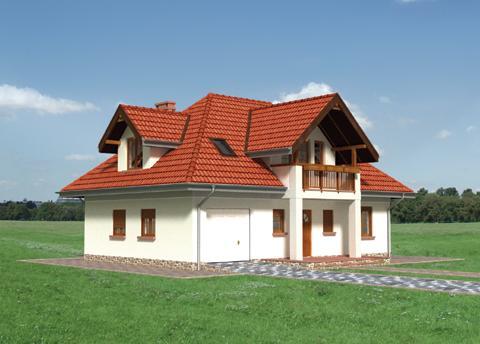 Projekt domu Konrad