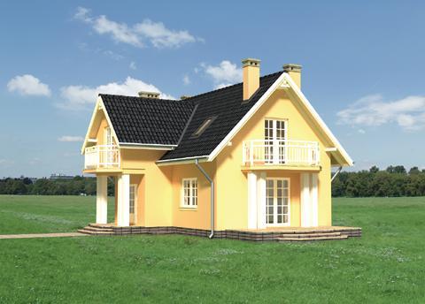 Projekt domu Kornelia