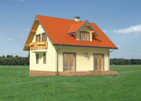 Projekt domu Kostek