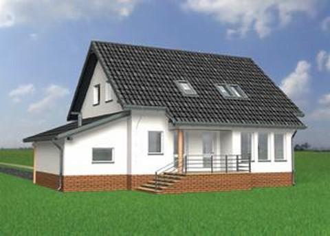 Projekt domu Kra
