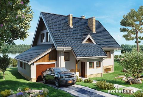 Projekt domu Krab-3