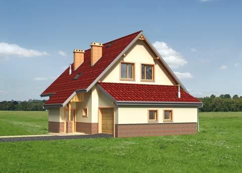 Projekt domu Krab Eko