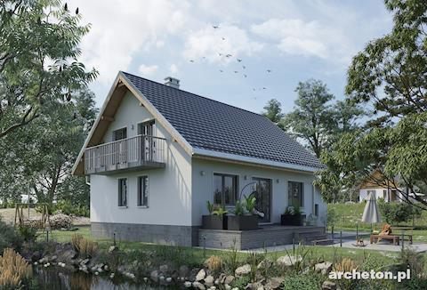 Projekt domu Krab Alfa