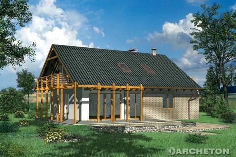 Projekt domu Krajka