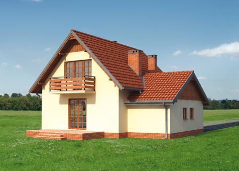 Projekt domu Kraska
