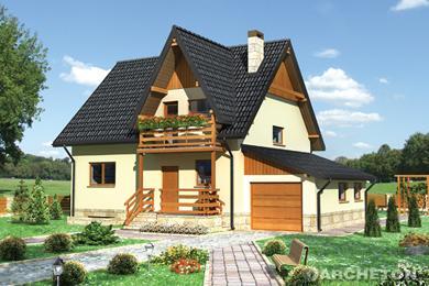 Projekt domu Krokus-2