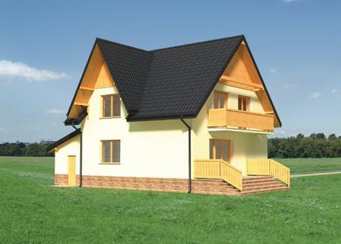 Projekt domu Krokus
