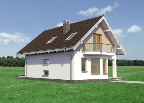 Projekt domu Kropka