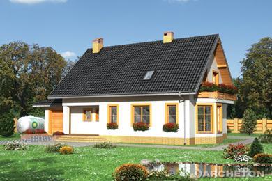 Projekt domu Krzemyk-2