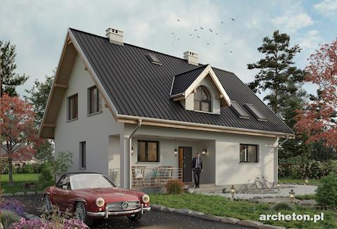 Projekt domu Krzemyk Atu