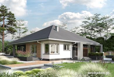 Projekt domu Ksenia