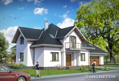 Projekt domu Ksymena